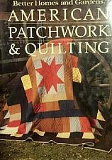Buy 1985 Hardcover Book Better Homes and Gardens American Patchwork Quilting