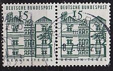 Buy GERMANY BUND [1964] MiNr 0455 2er ( O/used ) Bauwerke