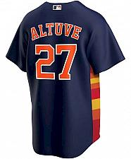 Buy Men's Jose Altuve Navy Houston Astros Alternate Replica Player Name Jersey
