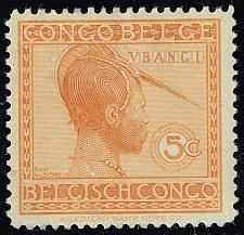 Buy Belgian Congo #88 Ubangi Woman; Unused (3Stars)  BCO088-06XRS