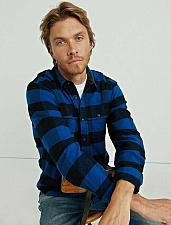 Buy NWT`s Lucky Brand Two Pocket Work Shirt XL/TG Lucky Brand 7M43225