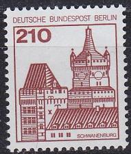 Buy GERMANY BERLIN [1978] MiNr 0589 ( **/mnh ) Bauwerke
