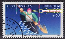 Buy GERMANY BUND [1985] MiNr 1239 II ( O/used ) [01] Plattenfehler
