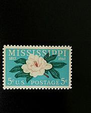 Buy 1967 5c Mississippi Statehood, 150th Anniversary Scott 1337 Mint F/VF NH