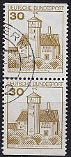 Buy GERMANY BUND [1977] MiNr 0914 CD ( O/used ) Bauwerke