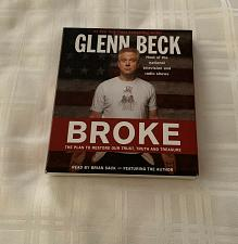 Buy Glenn Beck Broke Audio Book DVD 7 Disc Set Read By Brian Sack 4 Rescue Charity