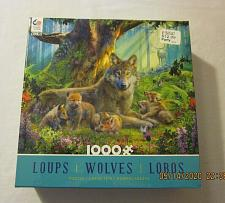 Buy Ceaco Forest Wolves - 1000 Piece Puzzle - Series 2