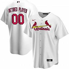 Buy St. Louis Cardinals White Home Pick-A-Player Retired Roster Replica Jersey