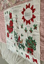 Buy Brand New Fabric Applique Panel Christmas Greenery Wearable Art For Shirts Bags