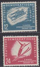 Buy GERMANY DDR [1951] MiNr 0280-81 ( **/mnh ) Sport