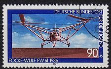 Buy GERMANY BUND [1979] MiNr 1008 ( O/used ) Flugzeug