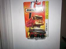 Buy 2008 MATCHBOX 2009 CONSTRUCTION DUMP TRUCK #67 RED AND BLACK