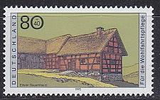 Buy GERMANY BUND [1995] MiNr 1819 ( **/mnh ) Bauwerke