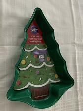 Buy Brand New Wilton Green Metal Christmas Tree Non Stick Cake Pan 2105-0070