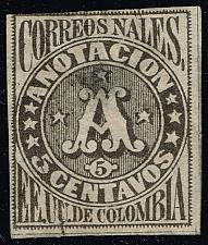 Buy Colombia #F3 Registration Stamp; Used (1Stars) |COLF03-01XRS