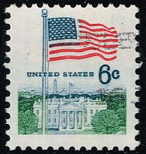 Buy US #1338 Flag and White House; Used (2Stars) |USA1338-02