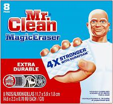 Buy Mr Clean Magic Eraser Extra Durable, Cleaning Pads with Durafoam, 8 Count Pack 1