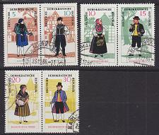 Buy GERMANY DDR [1966] MiNr 1214-19 Zdr ( OO/used ) Trachten