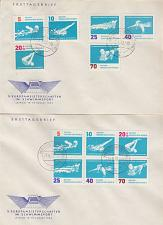 Buy GERMANY DDR [1962] MiNr 0907-12 und 6er ( OO/used ) Sport Briefe