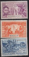 Buy MADAGASKAR MADAGASCAR [1931] MiNr 0203 ex ( */mh )