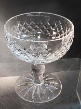 Buy Alana Signed Waterford CUT GLASS dessert crystal Ireland