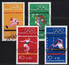 Buy GERMANY BUND [1972] MiNr 0734-37 ( O/used ) Olympiade