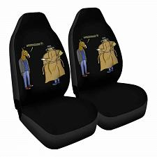 Buy Trench Coat! Car Seat Covers Nerdy Geeky Pop Culture Set of 2 Front Seat