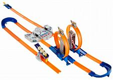 Buy Hot Wheels Track Builder Total Turbo Takeover Track Set Fast Secure Shipping New