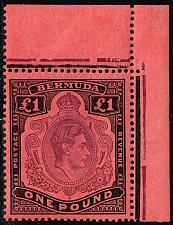 Buy Bermuda SG #121b King George VI; MNH (4Stars) |BERSG0121b-01XVK