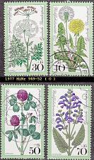 Buy GERMANY BUND [1977] MiNr 0949-52 ( O/used ) Blumen