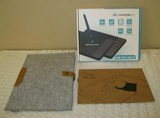 Buy Huion H420 USB Graphics Drawing Tablet Board Kit w/glove & wool liner bag