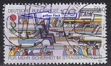Buy GERMANY BUND [1991] MiNr 1554 F44 ( O/used ) [01] Plattenfehler