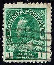 Buy Canada #104 King George V; Used (Stars) |CAN0104-07XRS
