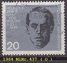 Buy GERMANY BUND [1964] MiNr 0437 ( O/used )