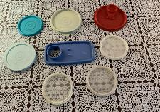 Buy Eight Assorted Tupperware Plastic Replacement Lids For Dog Rescue Charity