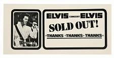 Buy ELVIS PRESLEY SOLD OUT 3 FT X 5 FT FABRIC BANNER