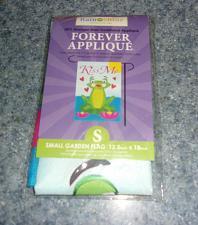 Buy Brand New Frog Design Rain Or Shine Small Garden Flag For Dog Rescue Charity