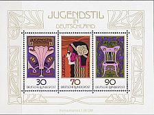 Buy GERMANY BUND [1977] MiNr 0923-25 Block 14 ( **/mnh ) Kunst