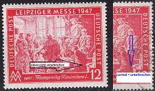 Buy GERMANY Alliiert Gemeinschaft [1947] MiNr 0965 II ( **/mnh ) [01] Plattenfehler