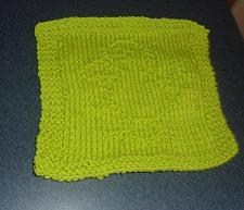 Buy Brand New Hand Knit Green Baby Chick Chicken Dish Cloth For Dog Rescue Charity