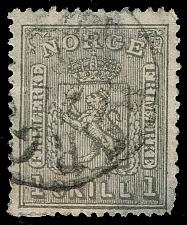 Buy Norway #11 Coat of Arms; Used (0Stars) |NOR0011-01XDP