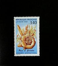 Buy 1992 France International Bread & Cereal Congress Scott 2289 Mint F/VF NH