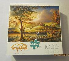 "Buy Buffalo Games Terry Redlin 1000 Piece Jigsaw Puzzle ""Always Alert"" 26"" x 19"""