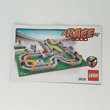Buy Lego Race 3000 Board Game 3839 Building Instruction Manual Replacement Part 2011