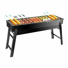 Buy Foldable BBQ Grill,BBQ Charcoal Grill,Portable Barbecue Camping Picnic Grill
