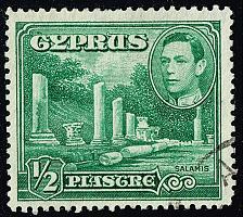 Buy Cyprus #144 Columns at Salamis; Used (3Stars) |CYP0144-08XRS