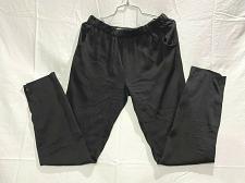 Buy Joe's ankle zip silk blend relaxed waist elastic pants Size S Worn once