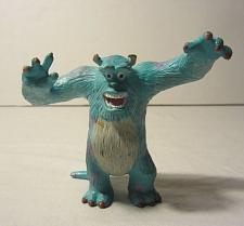 "Buy Walt Disney/Pixar Sulley from Monsters Inc. Hard Plastic Figure-3 3/8 "" Tall"