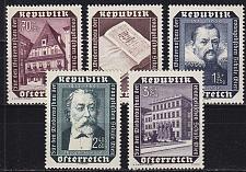 Buy ÖSTERREICH AUSTRIA [1953] MiNr 0989-93 ( **/mnh )