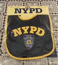Buy Brand New NYPD New York Police Department Baby Bib Torkia International